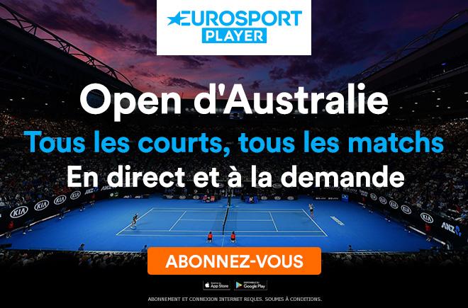 open d'australie eurosport