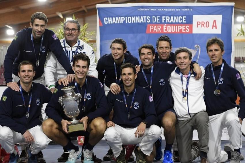championnat par équipes tennis